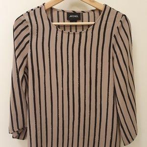 MONKI Striped Shirt